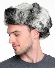 DJP OUTLET - Lewis Faux Fur Trapper Hat