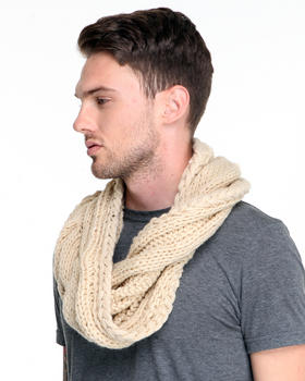 DJP OUTLET - Infinity Cable Knit Scarf