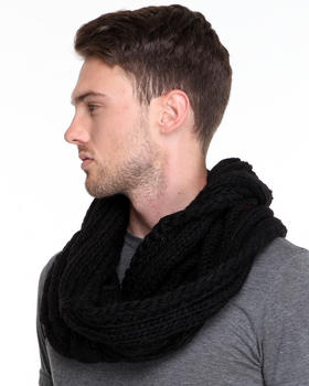 Block Headwear - Infinity Cable Knit Scarf