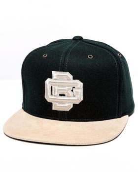 Mitchell & Ness - Green Bay Packers NFL Throwback Suede Strap Adjustable cap