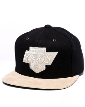 Mitchell & Ness - Los Angeles Kings NHL Vintage Suede Strap Adjustable cap