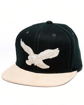 Mitchell & Ness - Philadelphia Eagles NFL Throwback Suede Strap Adjustable cap