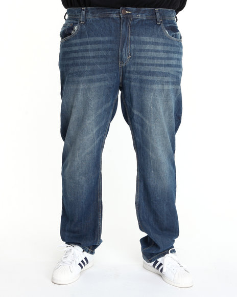 - Apollo Signature Embroidered Denim Jean (B&T)