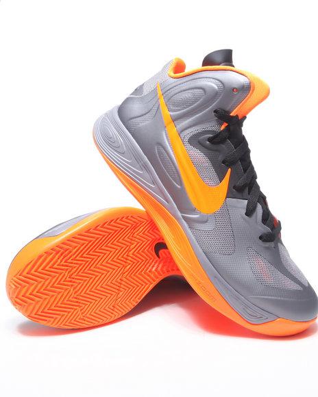 Nike Men Charcoal Nike Hyperfuse Sneakers