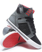 Supra - Skytop Grey Fish Scale/Black Glitter Sneakers