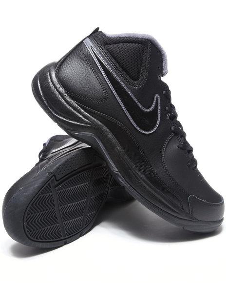 Nike Men Black The Overplay Vii Sneakers