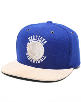 Mitchell & Ness - San Francisco Warriors NBA Suede Strap Adjustable cap