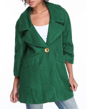 XOXO - Wool Tweed Coat