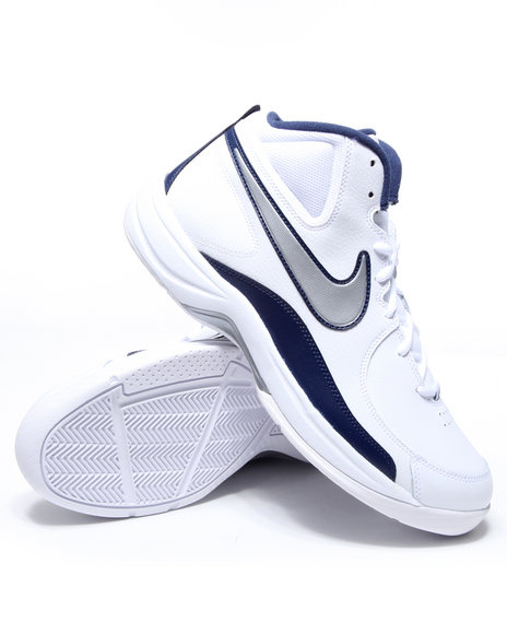 Nike Men White The Overplay Vii Sneakers