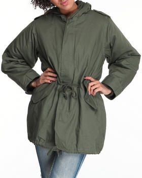 DRJ Army/Navy Shop - Fishtail Parka