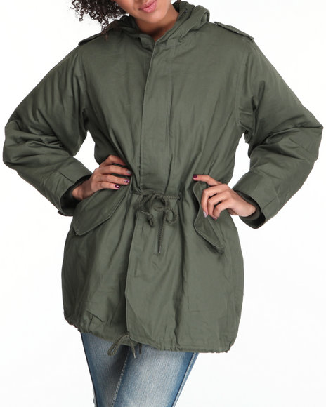 Rothco Green Fishtail Parka