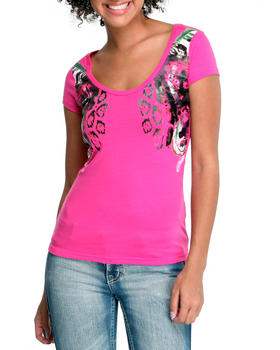 Rocawear - The Beauty Of Flight  Printed Bust Tee