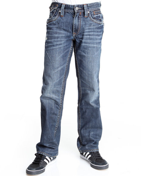 Buyers Picks Men Medium Wash Sr Medium Stone Denim Jeans (Premium Back Pocket Detail)