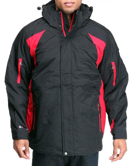 Akademiks Men Black Everest Triclimate Jacket