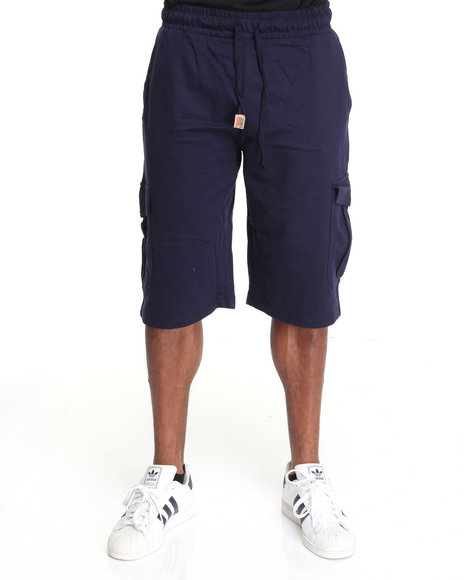 - Big Easy Light Fleece Cargo Shorts