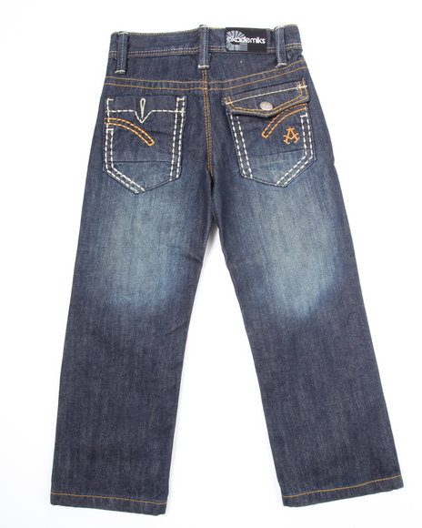 Akademiks Boys Black Star Jeans (4-7)