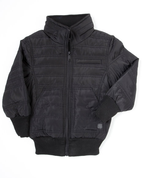 Arcade Styles - Boys Black Nightrider Jacket (4-7) - $14.99