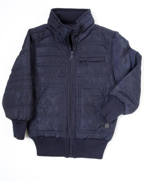 Arcade Styles - Boys Navy Nightrider Jacket (4-7)
