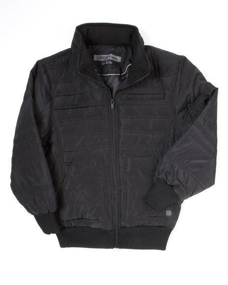 Arcade Styles Boys Nightrider Jacket 820 Black 1012 M
