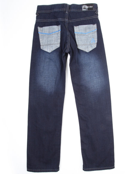Akademiks Boys Dark Wash Veer Jeans (8-20)