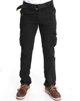 Basic Essentials - Flap Pocket Premium Cargo Pants