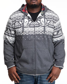 Marc Ecko Collection - Intarsia Printed Hoodie
