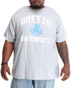 Men - Ghetto University S/S Tee (B&T)