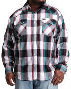 Men - Outlaw Plaid L/S Button-Down (B&T)