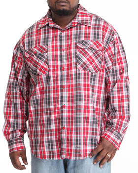 Rocawear - Alchemy Plaid L/S Button-Down (B&T)