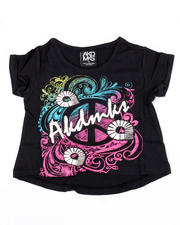 Tops - Peace Hippie Hi Low Tee (4-6X)