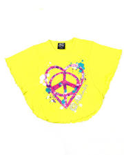 Girls - Peace Love Circle Tee (4-6X)