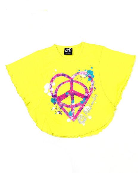 - Peace Love Circle Tee (4-6X)