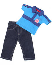 Boys - 2-piece Devon Polo Set (4-7)
