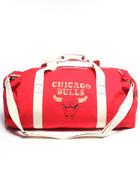 Mitchell & NessChicago Bulls Canvas Duffle Bag $50.00now $35.99