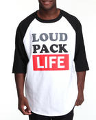 T-Shirts - Community 54 Loud Pack Life 3/4 Raglan