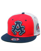 Akademiks - Akademiks Multi color panel snapback hat