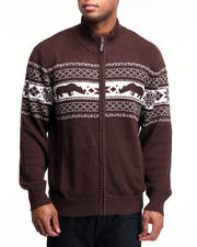 Sweaters - Rhino Confrontation Sweater