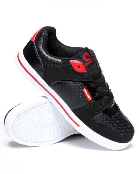 Akademiks Men Black,Red Akademiks Low Sneaker