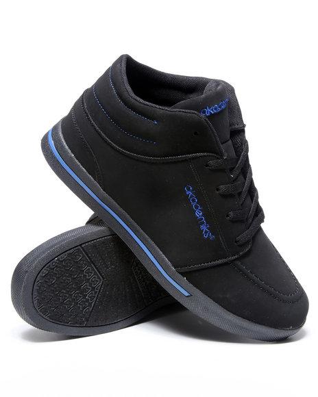 Akademiks Men Black,Blue Chukka Hightop Sneaker