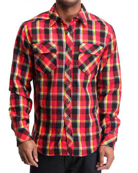 Basic Essentials - Axe Flannel Woven Shirt