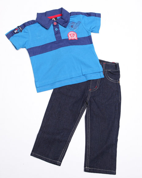 - 2-piece Devon Polo Set (INF)