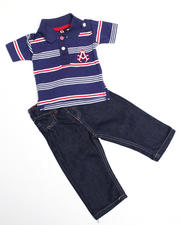Infant - 2-piece Abner Polo Set (INF)