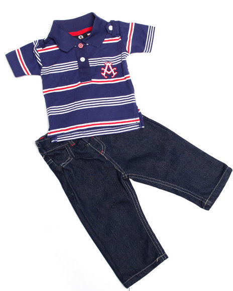 - 2-piece Abner Polo Set (NB)