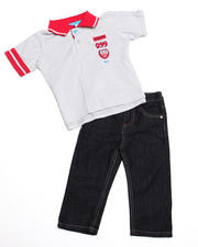 2T-4T Toddlers - 2pc Boyd Polo Set (TOD)