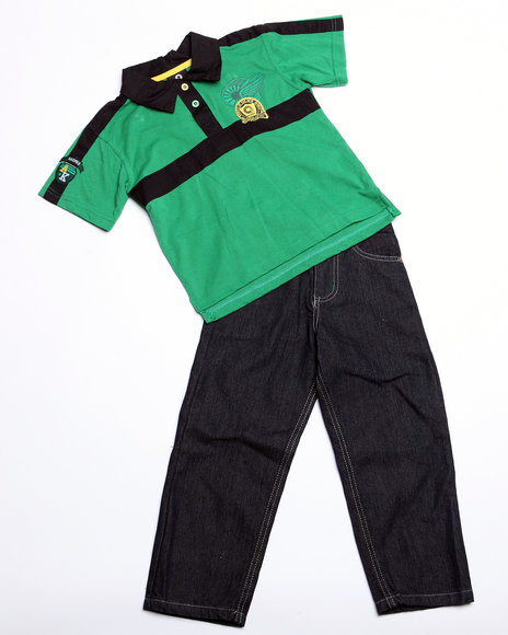 - 2pc Devon Polo Set (INF)