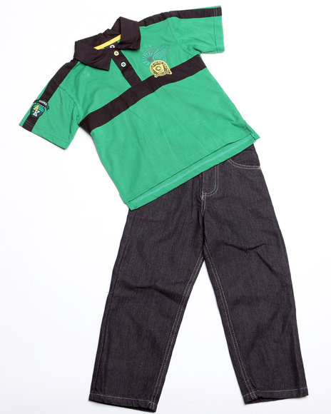 - 2pc Devon Polo Set (4-7)