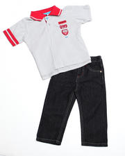 4-7x Little Boys - 2pc Boyd Polo Set (4-7)