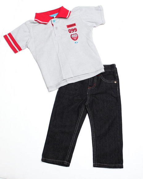 - 2pc Boyd Polo Set (4-7)