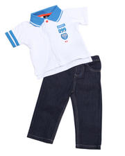 Infant - 2pc Boyd Polo Set (INF)