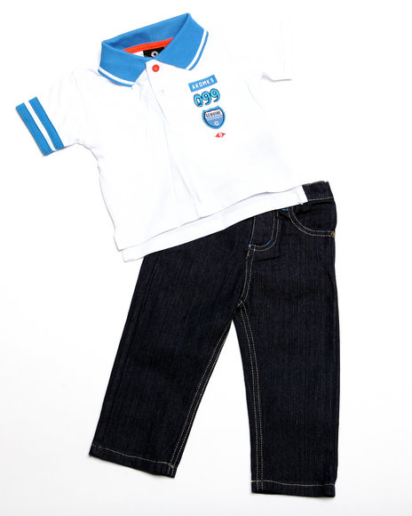 - 2pc Boyd Polo Set (NB)